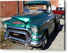 Old American Gmc Truck . 7d10665 Acrylic Print by Wingsdomain Art and Photography
