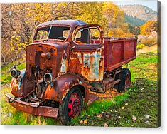 Old And Broken Acrylic Print by Marc Crumpler