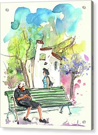 Old And Lonely In Portugal 04 Acrylic Print by Miki De Goodaboom