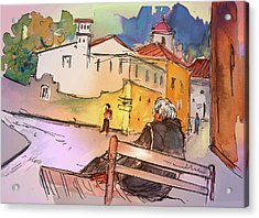 Old And Lonely In Portugal 07 Acrylic Print by Miki De Goodaboom