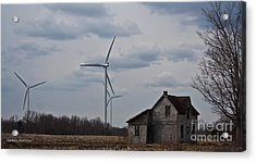 Acrylic Print featuring the photograph Old And New by Barbara McMahon