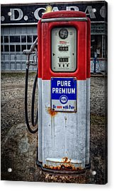 Old And Rustu Pump 2  Acrylic Print
