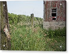 Acrylic Print featuring the photograph Old Barn 15 by John Crothers