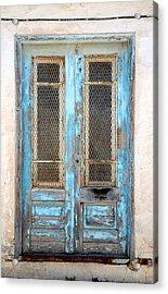 Old Blue Door Acrylic Print