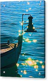 Old Boat Acrylic Print by Darko Vrbica