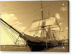 Acrylic Print featuring the photograph Old Boat by Jasna Gopic