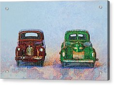 Old Boy Toys Acrylic Print by Perry Van Munster