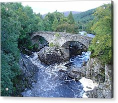 Old Bridge At Invermoriston Acrylic Print