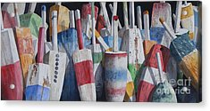 Old Buoy Hangout  Sold Printa Available Acrylic Print