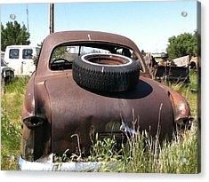 Old Car Acrylic Print by Bobbylee Farrier