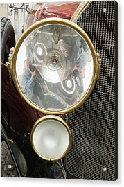 Old Car Lamp Acrylic Print by Odon Czintos