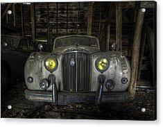 Old Car Acrylic Print by Nick  Shirghio