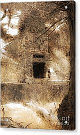 Old Chimney Acrylic Print by Angelique Olin