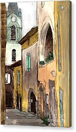 Old City Acrylic Print