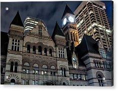 Old City Hall Acrylic Print by Luba Citrin