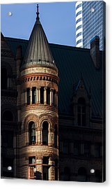 Old City Hall Turret Acrylic Print