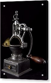 Old Coffee Machine Acrylic Print by Zafer GUDER