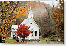 Old Country Church Acrylic Print
