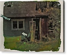 Old Cove Cottage  Acrylic Print by Janet Kearns
