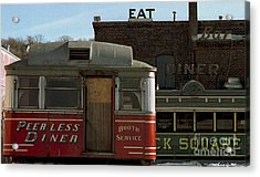 Old Diners Acrylic Print