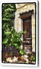 Old Door 2 Acrylic Print by Mauro Celotti