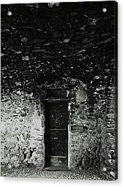 Old Door Under The Porch Acrylic Print by Ettore Zani