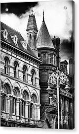 Old Dublin Acrylic Print by John Rizzuto