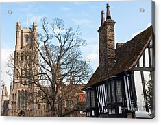 Acrylic Print featuring the photograph Old English House by Andrew  Michael