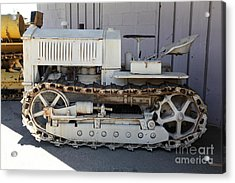 Old Farm Tractor . 5d16597 Acrylic Print by Wingsdomain Art and Photography
