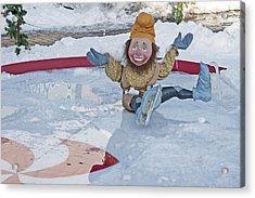 Old-fashioned Christmas 8 - Gardener Village Acrylic Print by Steve Ohlsen