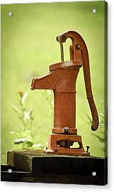 Old Fashioned Water Pump Acrylic Print