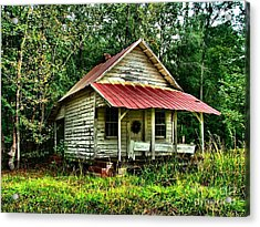 Old Florida Vi Acrylic Print by Julie Dant