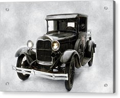 Acrylic Print featuring the photograph Old Ford by Gary Rose