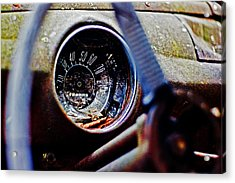 Old Ford Acrylic Print by Randall  Cogle