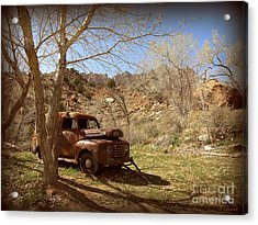 Acrylic Print featuring the photograph Old Ford by Tanya  Searcy