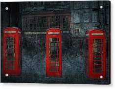 Old Friends Acrylic Print by Svetlana Sewell