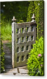 Old Garden Entrance Acrylic Print