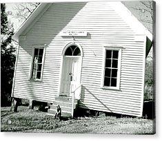 Old Gauley Church Acrylic Print