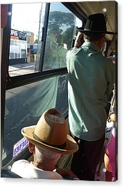 Acrylic Print featuring the photograph Old Hat by Beto Machado
