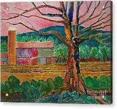 Old Herschel Farm Acrylic Print by Donald McGibbon