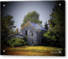 Old Home In Indiana Acrylic Print by Joyce Kimble Smith