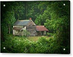 Old Home Place Acrylic Print by Douglas Barnett