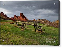 Old Homestead At Dusk Acrylic Print