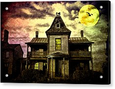 Old House At St Michael's Acrylic Print by Bill Cannon