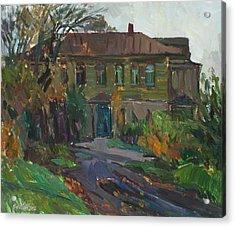 Old House Acrylic Print by Juliya Zhukova