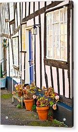 Old Houses Acrylic Print by Tom Gowanlock
