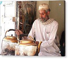 Old Ibb Tea Man Acrylic Print