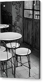 Old Ice Cream Parlor Acrylic Print by Maryann Flick