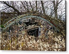Old Ice House Acrylic Print by Ms Judi