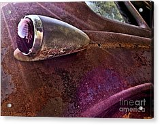 Old Into Gold Acrylic Print by Susan Smith